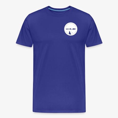 MiikaHD Logo [weiß] - Männer Premium T-Shirt