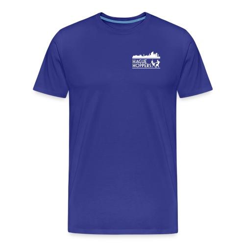 HH white logo front - Mannen Premium T-shirt