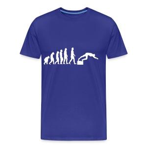 SWIMMER'S EVOLUTION - Maglietta Premium da uomo
