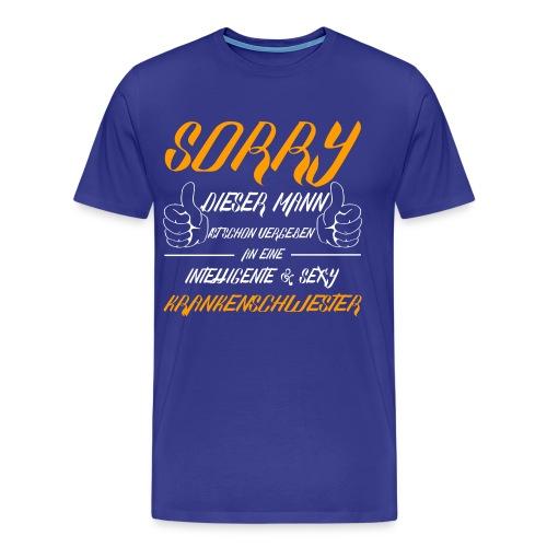 Vergeben an eine Krankenschwester - Männer Premium T-Shirt