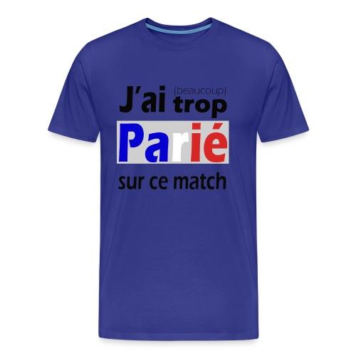 J'ai trop parié sur ce match - T-shirt Premium Homme