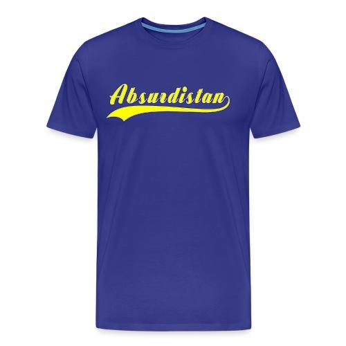Absurdistan - Premium-T-shirt herr