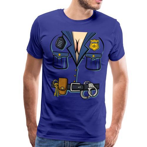 Polizistin Kostuem - Männer Premium T-Shirt