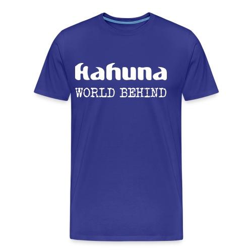 Kahuna Logo und Album - Männer Premium T-Shirt