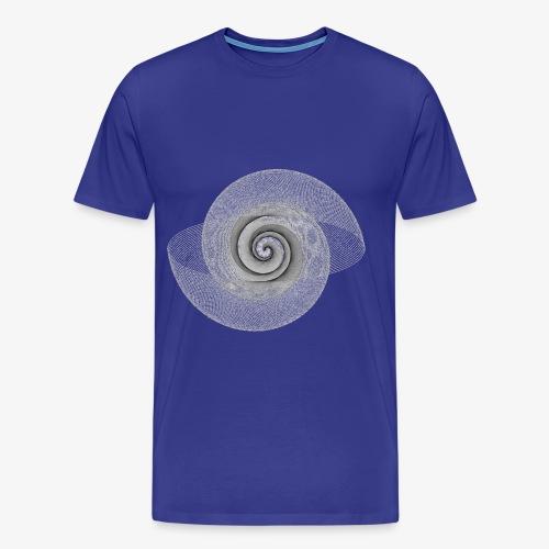 spiral lines - Maglietta Premium da uomo