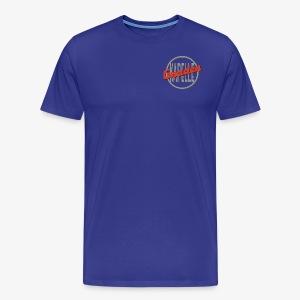 Gnadenkapellen Logo Grau/Rot - Männer Premium T-Shirt