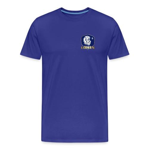 Logo Lahntal Loewen - Männer Premium T-Shirt