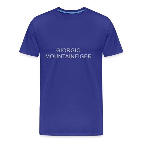 G. Mountainfiger - aus der Reihe unknown labels - Männer Premium T-Shirt