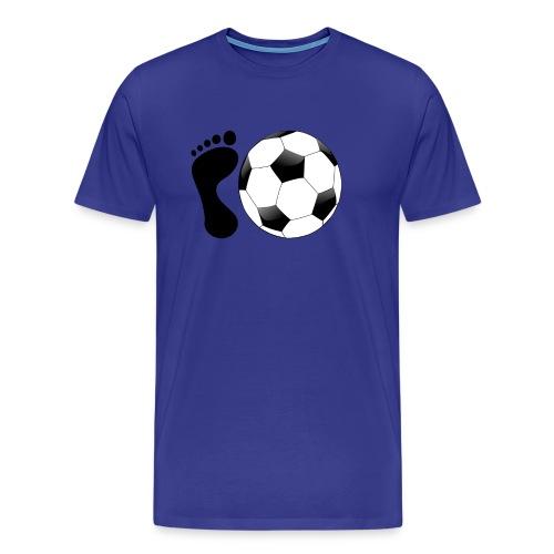 Fußball Bundesliga Sport Ball Spieler Deutschland - Männer Premium T-Shirt