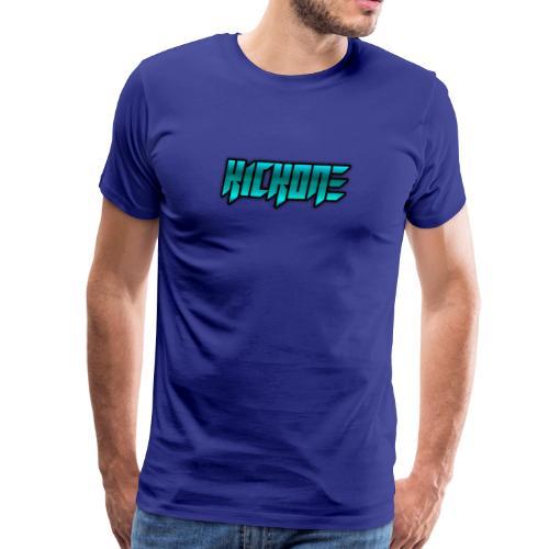 KickOneBlue - Männer Premium T-Shirt
