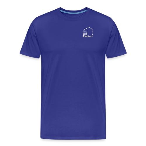 TBP logo white square - Men's Premium T-Shirt