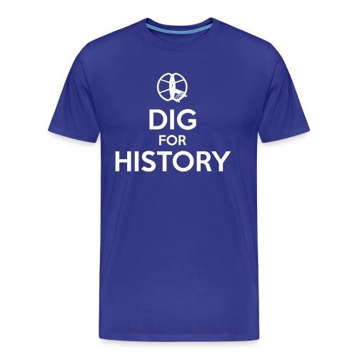 Dig for History 1 - by Detonateur - white - T-shirt Premium Homme