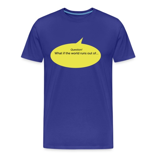 What if... - Mannen Premium T-shirt