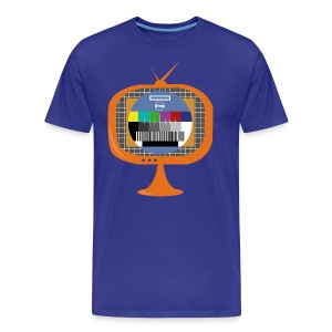 In the Zone TV colours template - Camiseta premium hombre