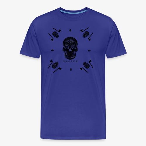 Skull World - Männer Premium T-Shirt