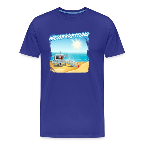 WASSERRETTUNG - Männer Premium T-Shirt