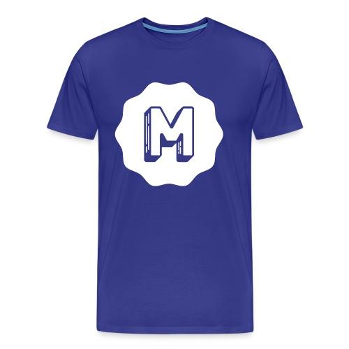 Messiosen symbol sort neg - Premium T-skjorte for menn