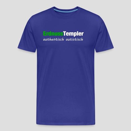 Authentisch, autistisch (Weiß) - Männer Premium T-Shirt