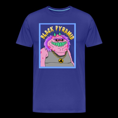 Pinkes Hip-Hop Monster - Männer Premium T-Shirt