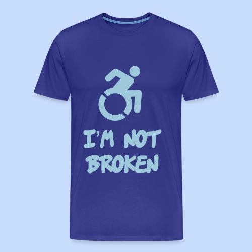 Broken - Mannen Premium T-shirt