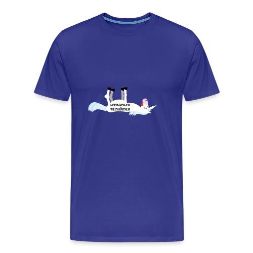 Leinsweiler Weinhoerner - Männer Premium T-Shirt
