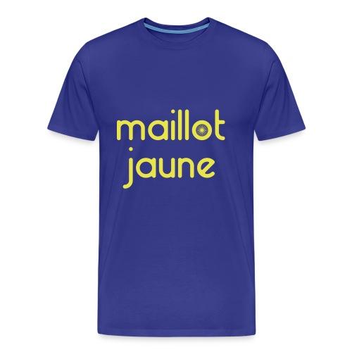 Maillot Jaune - Personnalisable - T-shirt Premium Homme