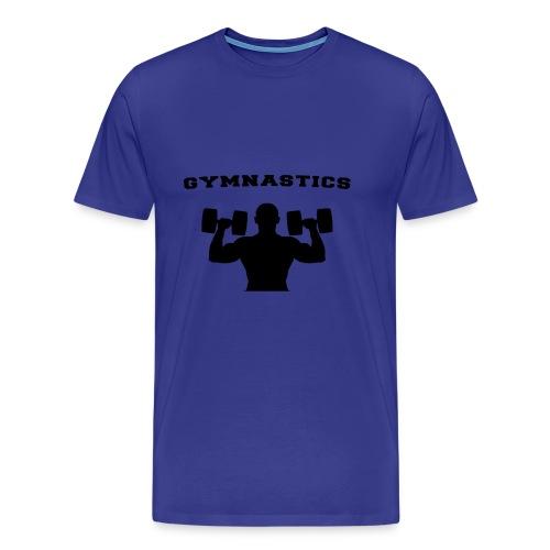 Sport Gymnastik - Männer Premium T-Shirt