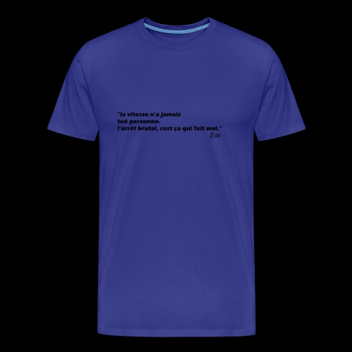vitesse (noir) - T-shirt Premium Homme