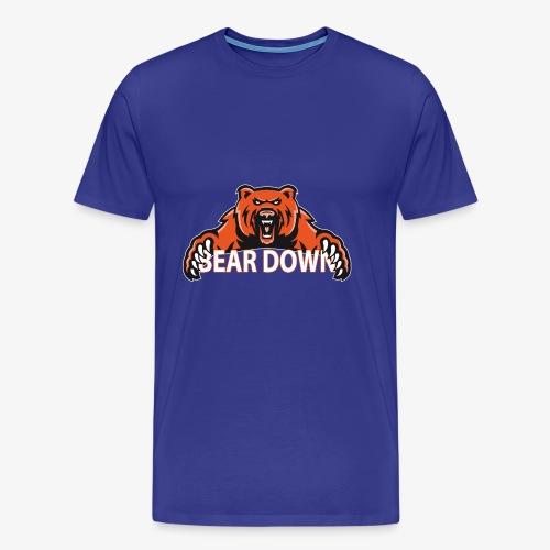 Bear down - Männer Premium T-Shirt