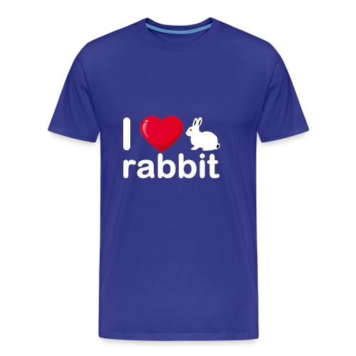 Zu nett Kaninchen i lieben weißes Kaninchen - Männer Premium T-Shirt