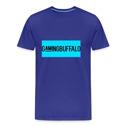Long Logo BLUE - Men's Premium T-Shirt