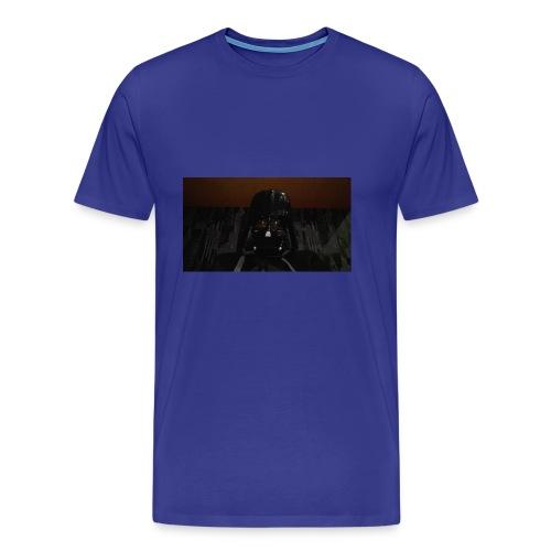 Nur mit maske - Männer Premium T-Shirt