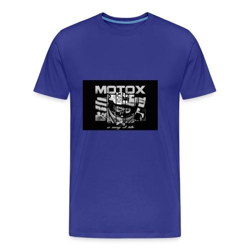 Motox a way of life - Mannen Premium T-shirt