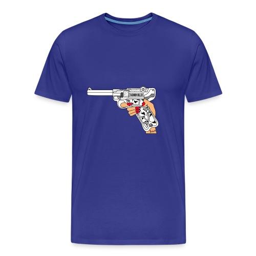 FashionK - Camiseta premium hombre