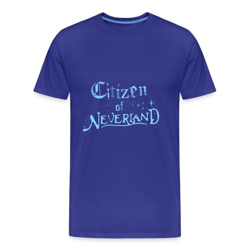 Citizen_blue 02 - Men's Premium T-Shirt