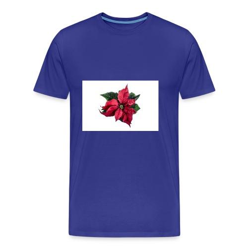 christmas-flower-1386873634Kpm - Premium-T-shirt herr