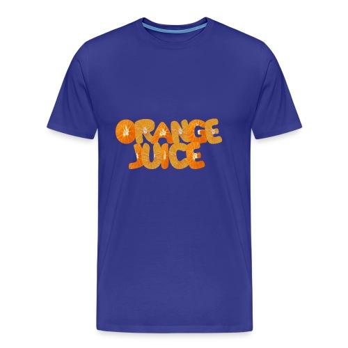 Orangene Orange - Männer Premium T-Shirt