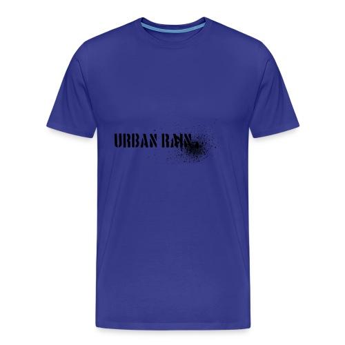 urban rain logo - Männer Premium T-Shirt