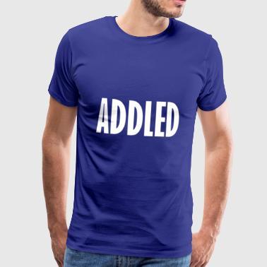 dum - Premium-T-shirt herr
