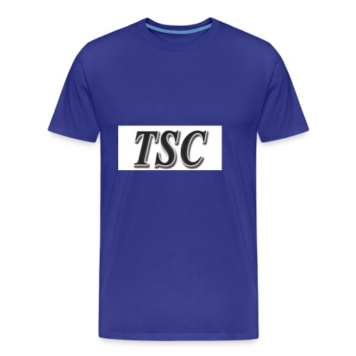 TSC Black Text - Men's Premium T-Shirt
