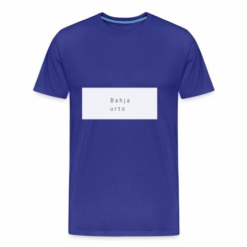 Bahja urto - Mannen Premium T-shirt