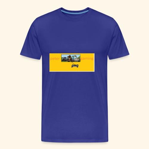 peter gaming - Men's Premium T-Shirt