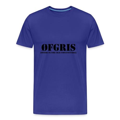 ØFGRIS - Premium - Herre premium T-shirt