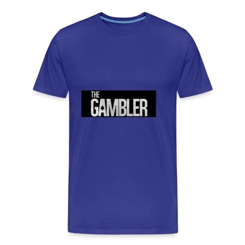 De gokker - Mannen Premium T-shirt