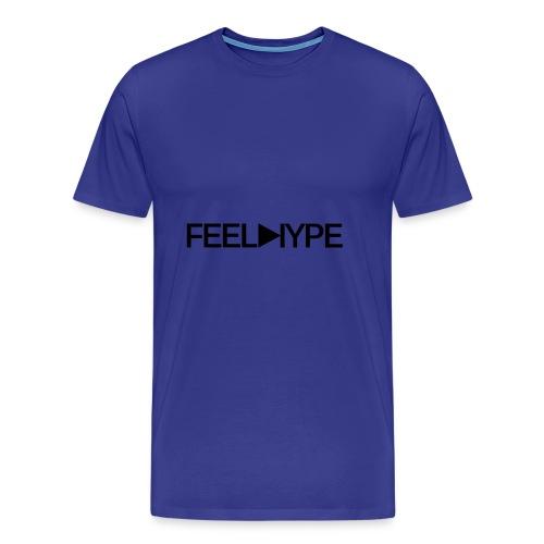 Feel Hype Logo Text - Männer Premium T-Shirt