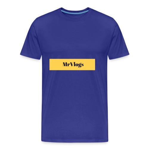 MrVlogs Cool Banner - Men's Premium T-Shirt