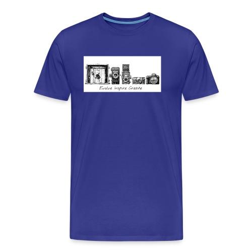 My Evolve-Inspire-Create logo - Men's Premium T-Shirt