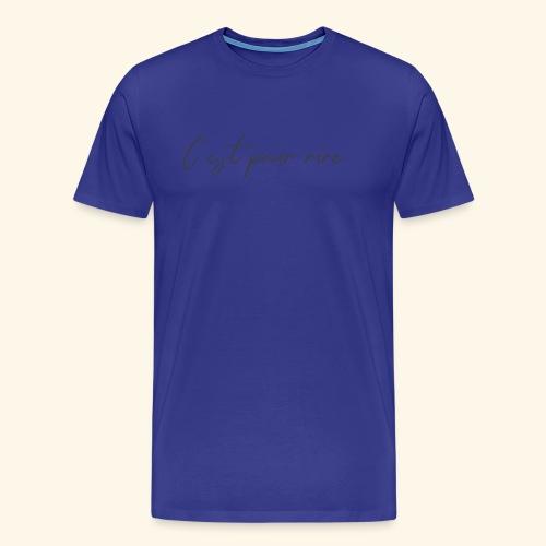 c'est pour rire - Men's Premium T-Shirt