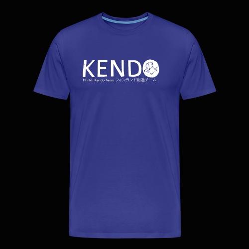 Finnish Kendo Team Text - Miesten premium t-paita