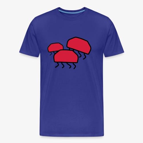 Drei Quallen - Männer Premium T-Shirt